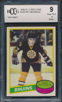 Ray Bourque 1980-81 O-Pee-Chee #140 RC (BCCG 9) at PristineAuction.com