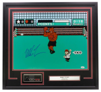 "Mike Tyson Signed ""Punch-Out!!"" 24x26 Custom Framed Photo Display with Controller (JSA COA) at PristineAuction.com"