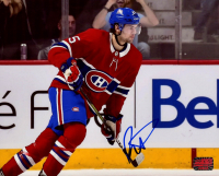 Ryan Poehling Signed Canadiens 8x10 Photo (Your Sports Memorabilia Store COA) at PristineAuction.com