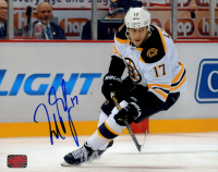 Milan Lucic Signed Bruins 8x10 Photo (YSMS COA) at PristineAuction.com