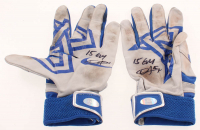 "Dexter Fowler Signed Pair of Game-Used Batting Gloves Inscribed ""15 GU"" (LOJO Hologram) at PristineAuction.com"
