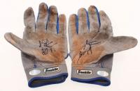 "Chris Taylor Signed Pair of Dodgers 2017 Game-Used Batting Gloves Inscribed ""GU 17"" (LOJO Hologram) at PristineAuction.com"