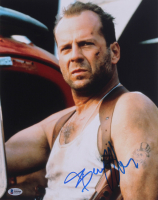 """Bruce Willis Signed """"Die Hard"""" 11x14 Photo (Beckett COA) at PristineAuction.com"""
