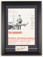 "Lauren Bacall Signed ""The Gradutate"" 14.5x19.5 Custom Framed Cut Display (JSA COA) at PristineAuction.com"