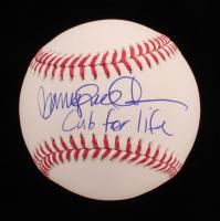 "Ryne Sandberg Signed OML Baseball Inscribed ""Cub for Life"" (Beckett COA) at PristineAuction.com"