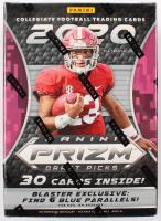 2020 Panini Prizm Draft Picks Football Box with (30) Cards at PristineAuction.com