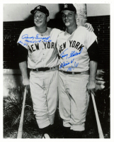 Randy Gumpert & Tracy Stallard Signed Yankees 8x10 Photo with Multiple Inscriptions (Sports Cards SOA) at PristineAuction.com