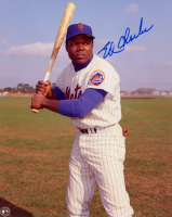 Ed Charles Signed Mets 8x10 Photo (Sports Cards SOA) at PristineAuction.com