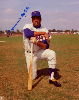 Tommie Agee Signed Mets 8x10 Photo (Sports Cards SOA) at PristineAuction.com