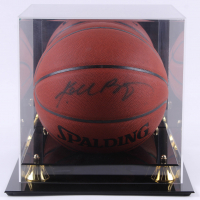 Kobe Bryant Signed NBA Basketball with High-Quality Display Case (Beckett LOA) at PristineAuction.com