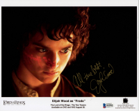 "Elijah Wood Signed ""The Lord of the Rings"" 8x10 Photo Inscribed ""All The Best"" (Beckett COA) at PristineAuction.com"