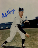 Ralph Terry Signed Yankees 8x10 Photo (Sports Cards SOA) at PristineAuction.com