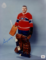 Gump Worsley Signed Canadiens 8x10 Photo (Autograph Reference COA) at PristineAuction.com