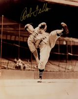 Bob Feller Signed Indians 8x10 Photo (Sports Cards SOA) at PristineAuction.com
