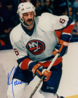 Ken Morrow Signed Islanders 8x10 Photo (Sports Cards SOA) at PristineAuction.com