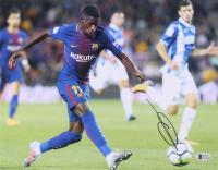 Ousmane Dembele Signed Barcelona 11x14 Photo (Beckett COA) at PristineAuction.com