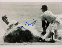 Maury Wills Signed Dodgers 8x10 Photo (Sports Cards SOA) at PristineAuction.com