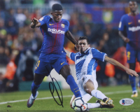 Ousmane Dembele Signed Team France 8x10 Photo (Beckett COA) at PristineAuction.com