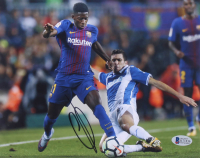 Ousmane Dembele Signed Barcelona 8x10 Photo (Beckett COA) at PristineAuction.com