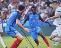 Ousmane Dembele Signed Team France 8x10 Photo (Beckett COA) at PristineAuction.com