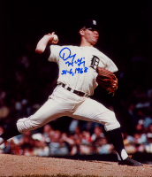 """Denny McLain Signed Tigers 8x10 Photo Inscribed """"31-6, 1968"""" (Sports Cards SOA) at PristineAuction.com"""