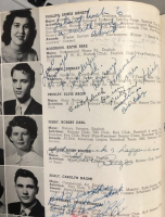 Elvis Presley Signed 1953 Yearbook with Extensive Inscription (PSA LOA) at PristineAuction.com
