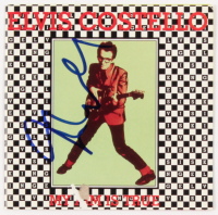 "Elvis Costello Signed ""My Aim Is True"" CD Cover (Beckett COA) at PristineAuction.com"