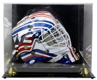Mike Richter Signed Team USA Full-Size Goalie Mask with Display Case (JSA COA) at PristineAuction.com