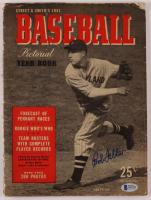 """Bob Feller Signed 1941 """"Baseball"""" Magazine (Beckett Hologram) at PristineAuction.com"""