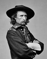 George A. Custer Signed Envelope (PSA Encapsulated) at PristineAuction.com