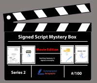 Entertainment Autographs Signed Script Mystery Box - Movie Edition Series 2 at PristineAuction.com