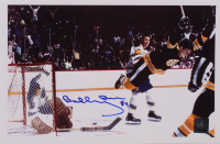 "Bobby Orr Signed Bruins ""The Flying Goal"" 7.75x11.75 Photo (Orr COA) (See Description) at PristineAuction.com"