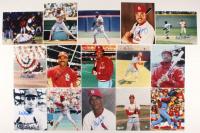 Lot of (15) Signed Cardinals 8x10 Photos with Blake Mcbride, Dal Maxvill (JSA ALOA) at PristineAuction.com