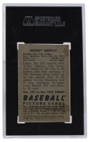 Mickey Mantle 1952 Bowman #101 (SGC 4) at PristineAuction.com
