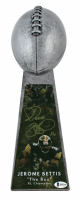 """Jerome Bettis Signed Steelers 15"""" Lombardi Football Championship Trophy (Beckett COA) at PristineAuction.com"""