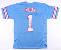 "Warren Moon Signed Jersey Inscribed ""HOF 06"" (JSA COA) at PristineAuction.com"