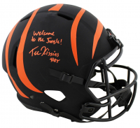 "Tee Higgins Signed Bengals Eclipse Alternate Speed Full-Size Helmet Inscribed ""Welcome To The Jungle!"" (Beckett COA) at PristineAuction.com"
