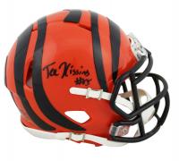 Tee Higgins Signed Bengals Speed Mini Helmet (Beckett COA) at PristineAuction.com