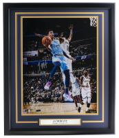 Ja Morant Signed LE Grizzlies 22x27 Custom Framed Photo Display (Panini COA) at PristineAuction.com
