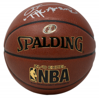 """Allen Iverson Signed NBA Basketball Inscribed """"The Answer"""" (JSA COA) at PristineAuction.com"""