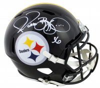 Jerome Bettis Signed Steelers Full-Size Speed Helmet (Beckett COA) at PristineAuction.com