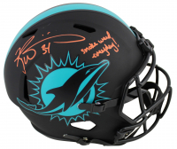 "Ricky Williams Signed Dolphins Full-Size Eclipse Alternate Speed Helmet Inscribed ""Smoke Weed Everyday!"" (JSA COA) at PristineAuction.com"