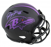 Ray Lewis Signed Ravens Eclipse Alternate Speed Mini Helmet (Beckett COA) at PristineAuction.com
