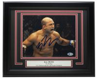 B.J. Penn Signed UFC 11x14 Custom Framed Photo Display (Beckett COA) at PristineAuction.com