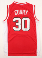 Stephen Curry Signed Davidson Wildcats Jersey (Beckett COA) at PristineAuction.com