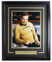"William Shatner Signed ""Star Trek"" 16x20 Custom Framed Photo Display (JSA COA) at PristineAuction.com"