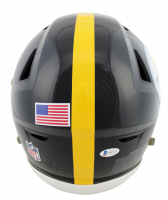 """Jerome Bettis Signed Steelers Full-Size Authentic On-Field SpeedFlex Helmet Inscribed """"HOF 15"""" & """"The Bus"""" (Beckett COA) at PristineAuction.com"""