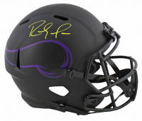 Randy Moss Signed Vikings Full-Size Eclipse Alternate Speed Helmet (Beckett COA) at PristineAuction.com