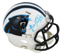 Luke Kuechly Signed Panthers Matte White Speed Mini Helmet (Beckett COA) at PristineAuction.com