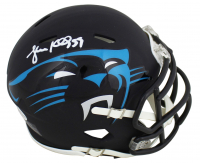 Luke Kuechly Signed Panthers AMP Alternate Speed Mini Helmet (Beckett COA) at PristineAuction.com